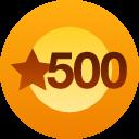 500+ Likes