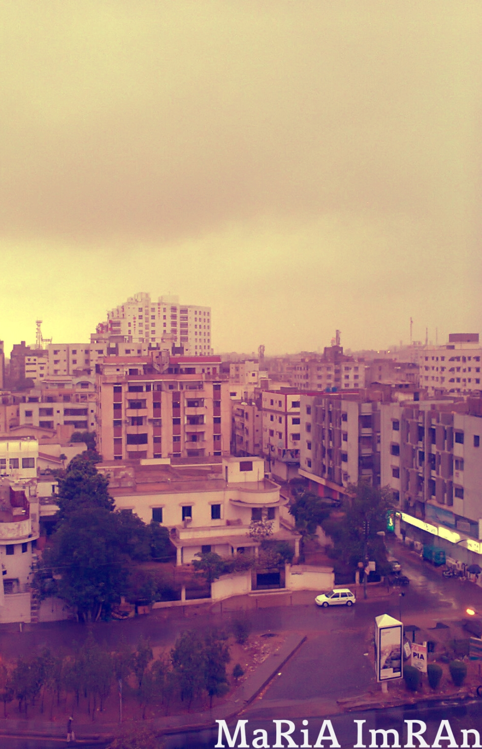 It is going to rain..