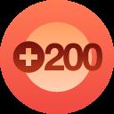 +200 FOLLOWERS