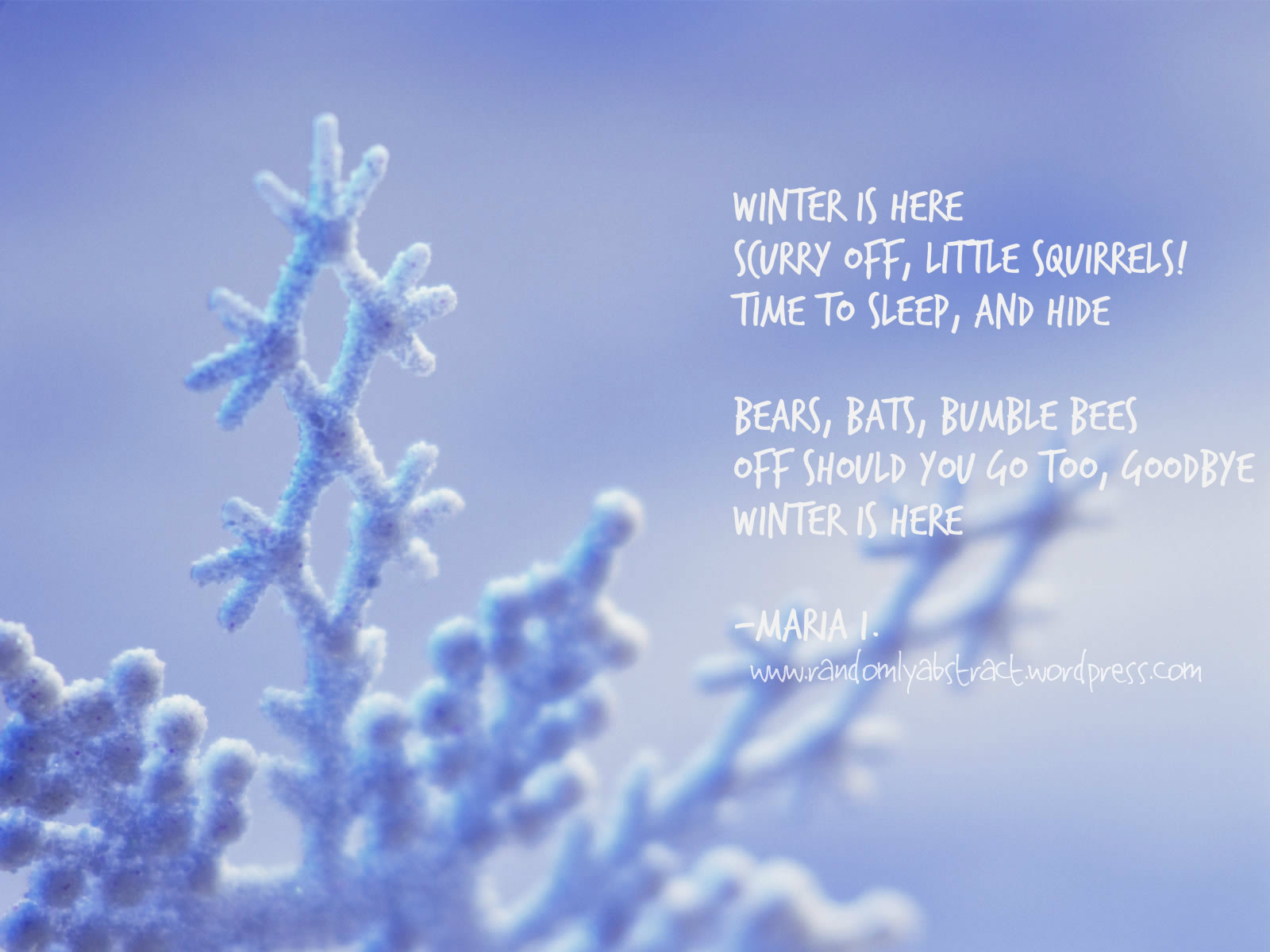 Quotes About Winter. QuotesGram. Hiking With Haikus Ria